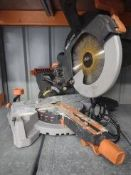 Evolution Sliding Compound Mitre Saw With TCT Multi-Material Cutting Blade – Approx RRP £190