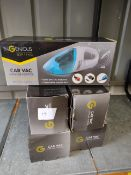Ingenious car vac x5 – Approx rrp £15 x 5 £75