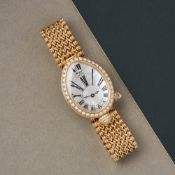 Breguet Reine de Naples 8928BA/51/J20 DD00 Ladies Yellow Gold Diamond Mother of Pearl Watch