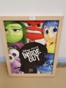 Disney Pixar 'Inside Out' Framed Print. 44 X 55Cm