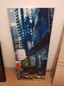 The Lion King, New York Print On Canvas500 X 1230mm