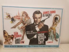 James Bond From Russia With Love Canvas Print (1200 X 850 X 20mm)