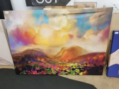Abstract Landscape Scene 1200 X 850mm