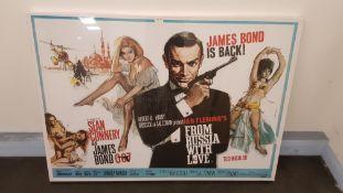 James Bond Dr No Canvas Print (1200 X 858 X 20mm)