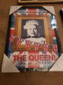 We're Partying With The Queen June 2012 Print 320 X 450mm