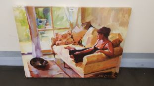 Daydream Canvas Print By Ashka Lowman 2014 (800 X 600 X 20mm)