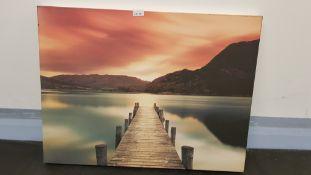 Ullswater By Mel Allen Canvas Print (800 X 600 X 20mm)