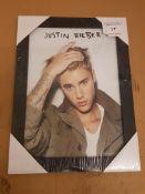 Justin Bieber Framed Print 400 X 300mm