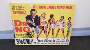 James Bond Dr No Canvas Print (800 X 600 X 20mm)