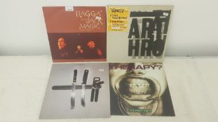 "4 X 12"" Vinyl. 1 X Ragga And The Jack Magic Orchestra Where Are They Now? , 1 X Pelirocco Fracas."