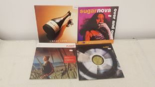"4 X 12"" Vinyl. 1 X MJ Cole Crazy Love, 1 X Sugarnove Over And Over. 1 X Fused Saving Mary & 1"