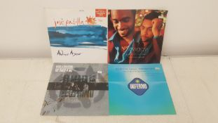 "4 X 12"" Vinyl. 1 X Jose Padilla Adios Ayer, 1 X Shaggy Piece Of My Heart. 1 X Oxide & Neutrino"