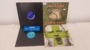 "4 X 12"" Vinyl. 1 X Another Level I Want You For Myself, 1 X Shanks & Bigfoot Sing A Long. 1 X S"