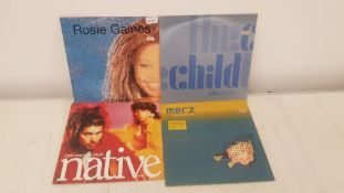 "4 X 12"" Vinyl. 1 X Rosie Gaines Surrender, 1 X Alex Gopher The Child. 1 X Native I Just Wanna"