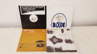 "4 X 12"" Vinyl. 1 X Jam & Spoon feat Rea Be Angeled Promo NuLife, 1 X Mint Royale Don't Falter Wi"