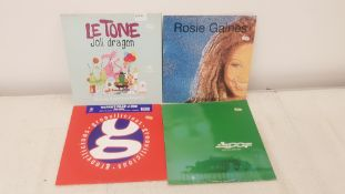 "4 X 12"" Vinyl. 1 X Le Tone Joli Dragon, 1 X Rosie Gaines Surrender. 1 X Ultra 5 Ft J Cee Potion"