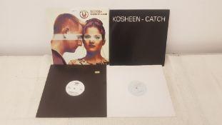 """4 X 12"""" Vinyl. 1 X Dune Hand In Hand, 1 X Kosheen Catch. 1 X Layla Gotta Find Love & 1 X FrouFr"""