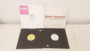 "4 X 12"" Vinyl. 1 X Oink Get The Party Started, 1 X Steven Dante & Juliet Roberts Never Had A Love"