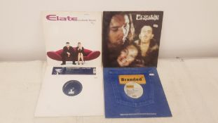 "4 X 12"" Vinyl. 1 X Elate Somebody Like You, 1 X Frantic Language Move It. 1 X Shirley Bassey An"