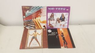 "4 X 12"" Vinyl. 1 X Mis Teeq One Night Stand, 1 X Mica Paris Two In A Million. 1 X Kelly Rowland"