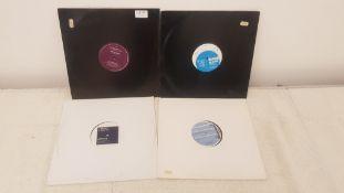 "4 X 12"" Vinyl. 1 X Ben Kaye The Truth, 1 X Ray Clarke Electronic. 1 X JKTheory Want Me & 1 X Po"