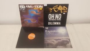 "4 X 12"" Vinyl. 1 X Soundstation Peace & Joy, 1 X So Solid Crew Oh No. 1 X Soul Family Sensation"