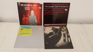 "4 X 12"" Vinyl. 1 X NT Positive Black Eyed Peas Remix With Rap, 1 X Afterburn North Pole, 1 X Spac"