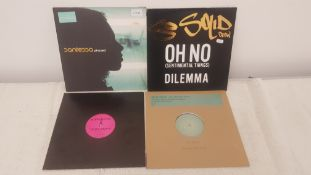 "4 X 12"" Vinyl. 1 X Santessa Phased, 1 X So Solid Crew Oh No Dilemma. 1 X Unfknblvbl II Techno P"
