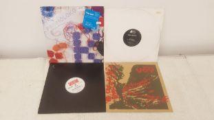 "4 X 12"" Vinyl. 1 X Moloko Pure Pleasure Seeker, 1 X Base Graffiti The Hulk. 1 X Karim Rocking R"