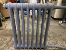 Antique Victorian Cast Iron Radiator