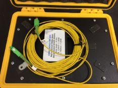 MINI OTDR LAUNCH CABLE 1000M BOX IN PELI CASE