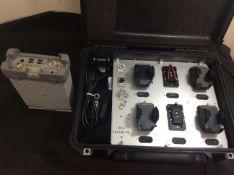 Jdsu w1314a-e16 7 band receiver plus jdsu e6473b-915 in peli case