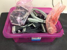BOX OF SUNRISE TELECOM CABLES