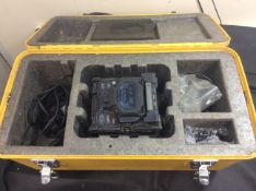 FUJIKURA FSM-60S FIBER FUSION SPLICER IN CARRY CASE