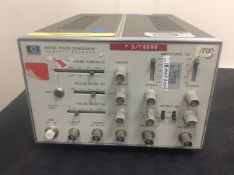 HP 8013A 50MHZ PULSE GENERATOR