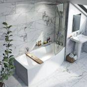 Space-saver Bath 1690 x 690 RH (TSSBRH). BATH ONLY