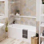 Tesi 1700 x 700 Idealform 'Plus' Bath. No Tapholes (T000801) BATH ONLY