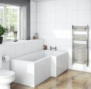 L Shape Shower Bath RH 1700 x 850 (NCBOS1785R) BATH ONLY