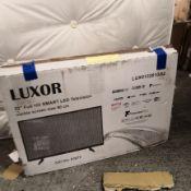 Luxor 32 inch full hd, freeview play, smart tv [black] 37x56x14cm rrp: £382.0