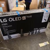 Lg oled55bx6lb 55 inch oled 4k ultra hd, hdr, smart tv [black] 75x123x25cm rrp: £2158.0