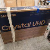 Samsung ue65tu7100 65 inch crystal view, 4k ultra hd, hdr, smart tv 91x145x29cm rrp: £1318.0
