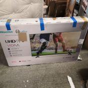 Hisense h50a7100ftuk 50 inch 4k ultra hd, hdr, freeview play smart tv 71x112x23cm rrp: £694.0