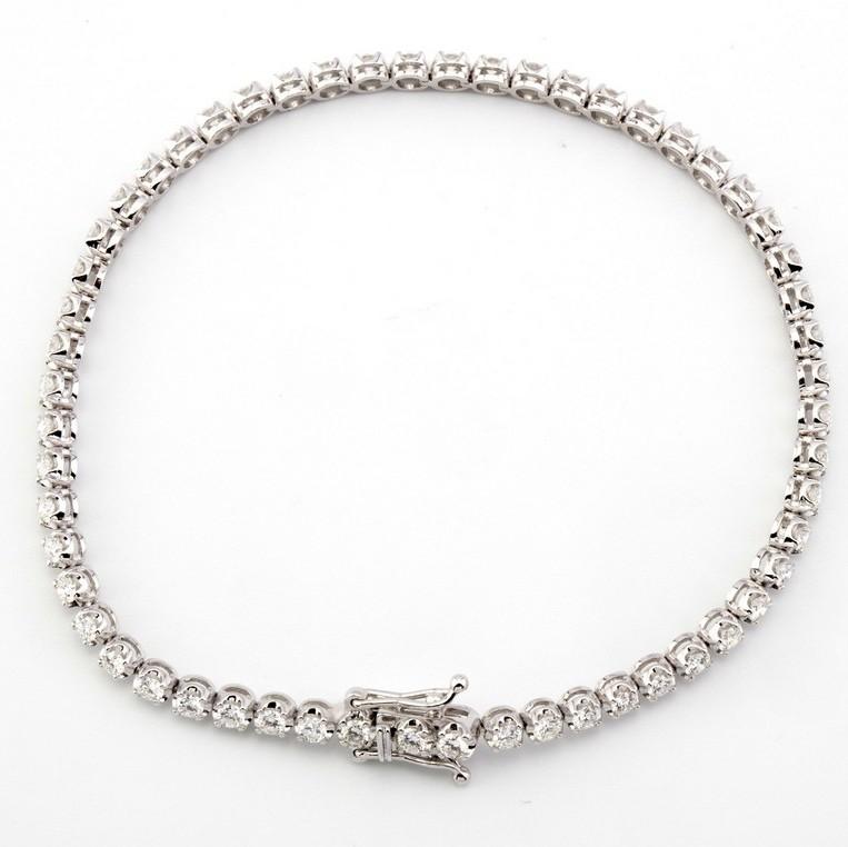 14K Diamond Bracelet 2,00ct - Image 2 of 5