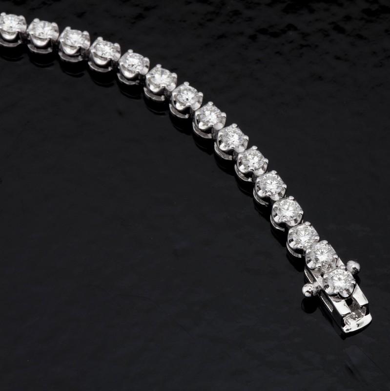 14K Diamond Bracelet 3,00ct
