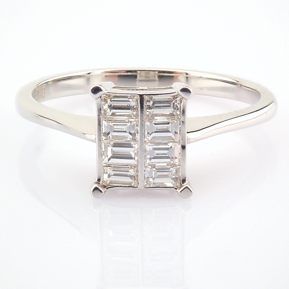 14K White Gold Diamond Ring - Image 5 of 8