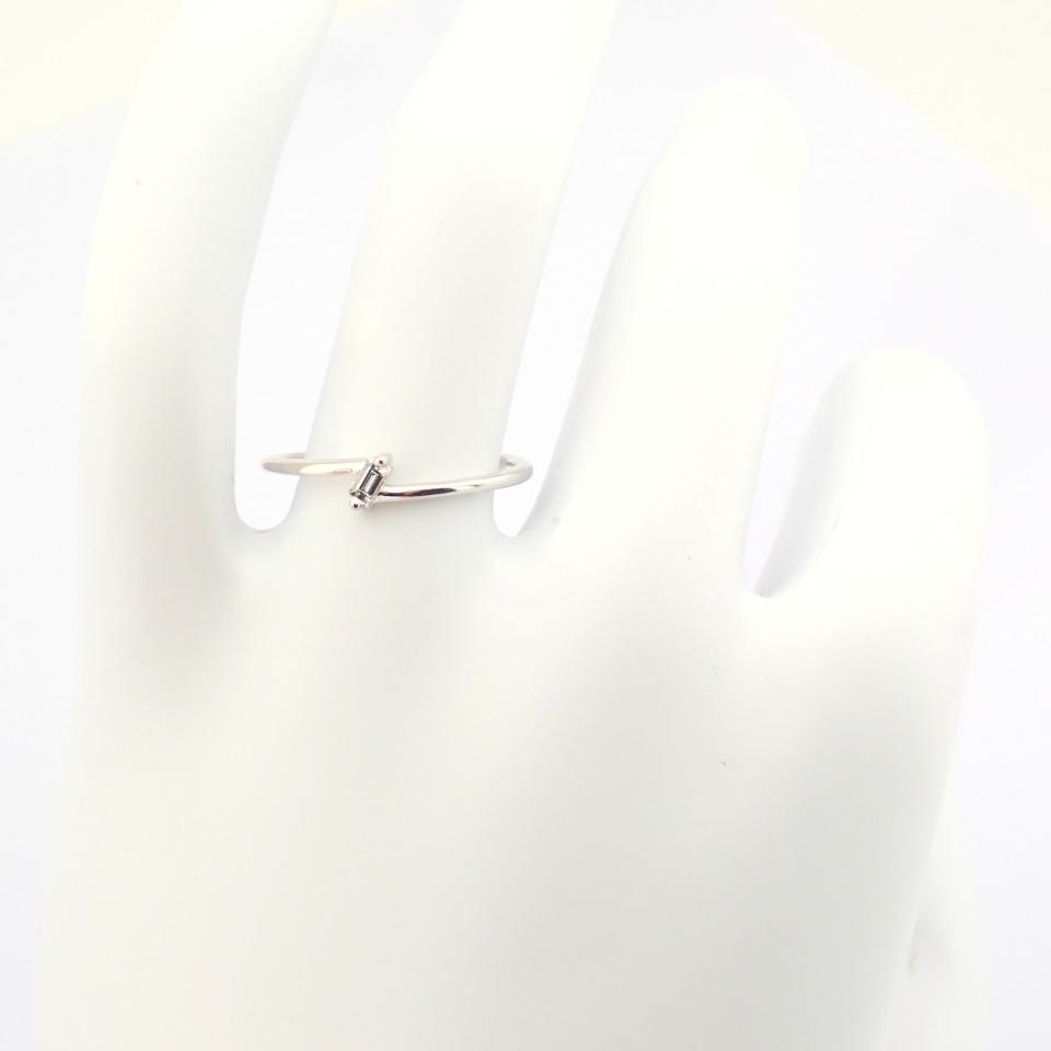 14K White Gold Diamond Ring - Image 12 of 12