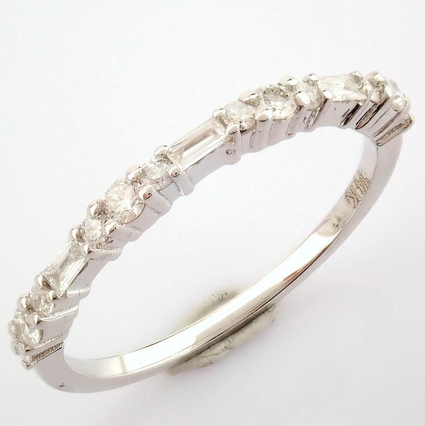 14K White Gold Diamond Ring - Image 2 of 8