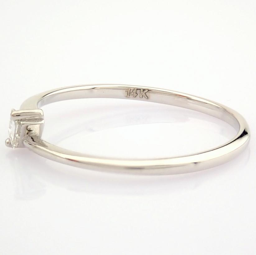 14K White Gold Diamond Ring - Image 4 of 12