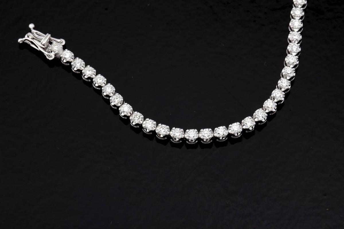 14K Diamond Bracelet 3,00ct - Image 4 of 4