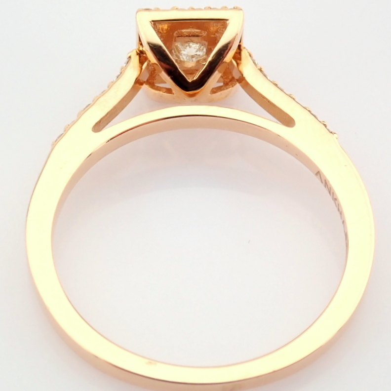 14K Yellow and Rose Gold Diamond Ring - Image 4 of 6